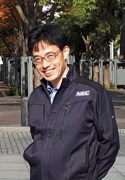写真1:NEC 大島 武
